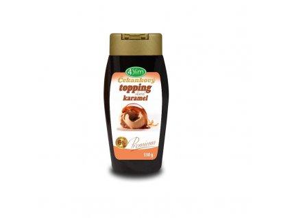 Čekankový topping slaný karamel 330 g