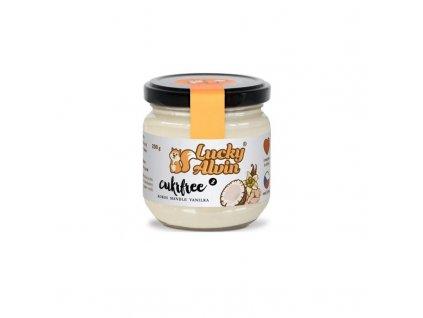 Krém z kokosu, mandlí a vanilky Lucky Alvin Cukrfree 200 g