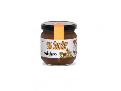 Lískooříškový krém s kakaem a vanilkou Lucky Alvin Cukrfree 200 g