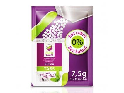 Stevia Tabs sáček 125 tablet NATUSWEET