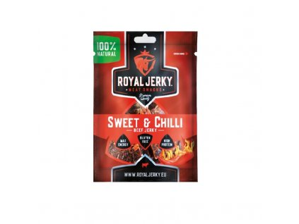 22G ROYAL JERKY BEEF SWEET&CHILLI 22 g