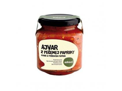 Ajvar z pečených paprik