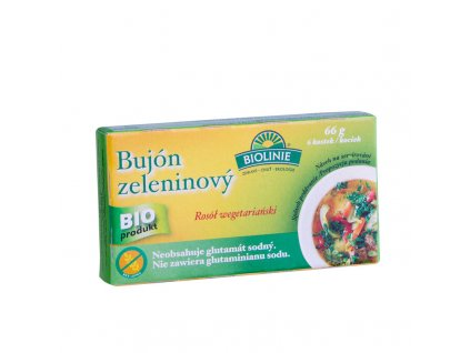 BIO Bujón zeleninový v kostkách