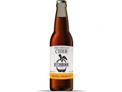 Cider Redbrook Original polosuchý