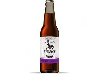 Cider Redbrook Red Fruit polosuchý