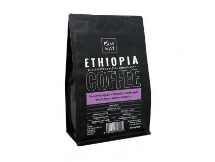 Ethiopia odrůdová káva zrnková Pure Way