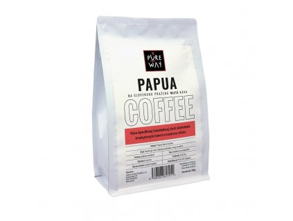 Papua odrůdová káva mletá Pure Way