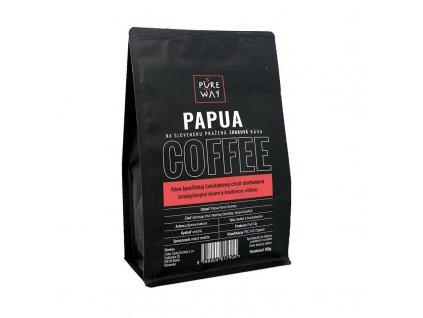 Papua odrůdová káva zrnková Pure Way
