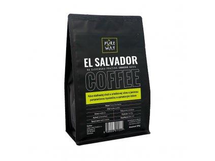 Salvador odrůdová káva zrnková Pure Way