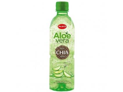 Aloe Vera nápoj s chia semínky