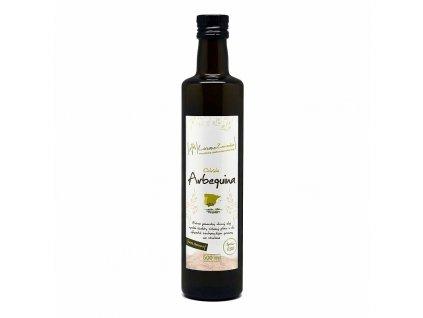Extra panenský olivový olej nefiltrovaný Arbequina 500 ml