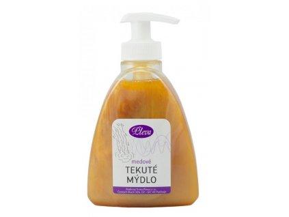 Tekuté mýdlo medové