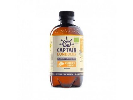 BIO Captain Kombucha Ginger- Lemon