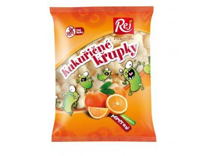 Kukuřičné křupky pomerančové Rej