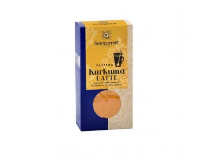 Kurkuma Latte vanilka krabička BIO SONNENTOR