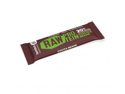 Proteinová tyčinka s kakaovými boby Bombus Raw Protein