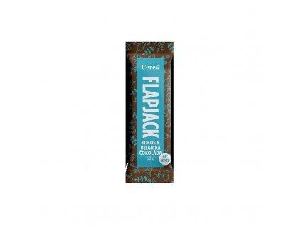 Flapjack kokos & čokoláda