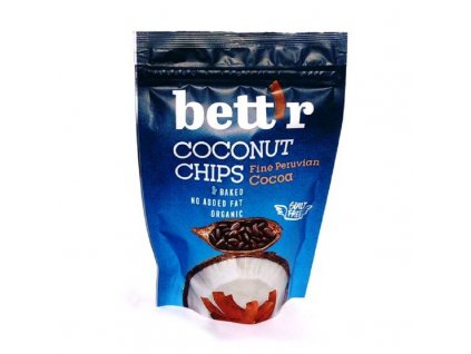 "BIO Kokosové chipsy s kakaem Bett""r"