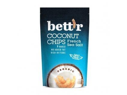 """BIO Kokosové chipsy s mořskou solí Bett""""r"""