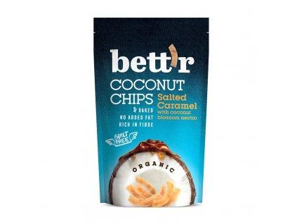 "BIO Kokosové chipsy se slaným karamelem Bett""r"