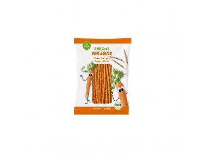 BIO Špaldové tyčinky s mrkví 75 g