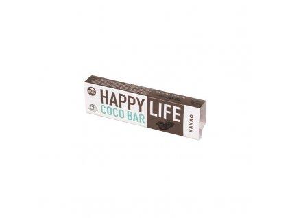 Coco Bar Kokosová tyčinka s kakaem bio HAPPYLIFE