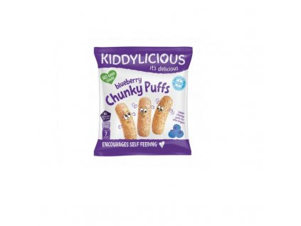 Kiddylicious Křupky borůvkové velké 12 g