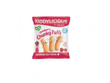 Kiddylicious Křupky jahodové velké 12 g