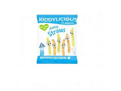 Kiddylicious Tyčinky sýrové 12 g