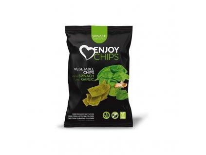 Zeleninový snack špenát Enjoy chips