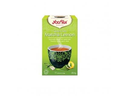 Ajurvédský zelený čaj porcovaný matcha lemon BIO 30,6 g YOGI TEA