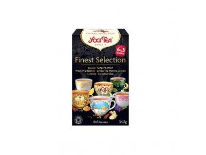 Bio výběr nejlepších YOGI Tea 34,2 g