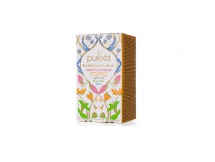 Čaj Herbal Collection/4x5 druhů bylinných čajů bio 20 sáčků PUKKA