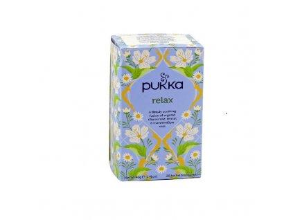 Čaj Relax/Relaxační bio 20 sáčků PUKKA