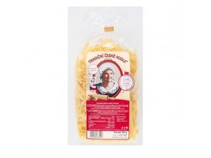 Tradiční české nudle vaječné široké