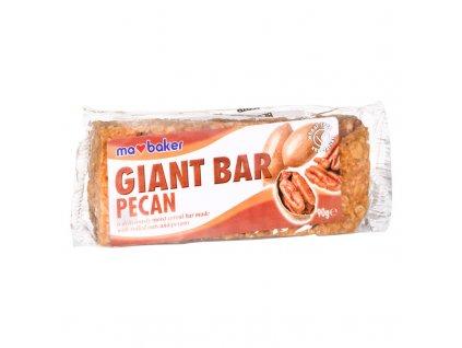 Obří ovesná tyčinka pekanové ořechy MABAKER
