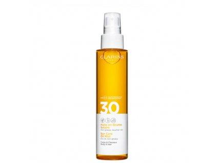 Opalovací olej ve spreji na tělo a vlasy SPF 30 (Sun Care Oil Mist) 150 ml