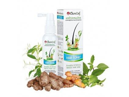 Bylinné vlasové tonikum (Natural Herbal Active Hair Tonic) 60 ml