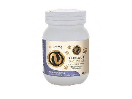 Coriolus Versicolor extract 30% 100 kapslí