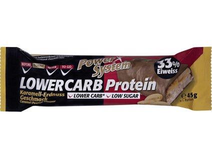 LOWER CARB Protein Bar 33% Caramel Peanut 45 g