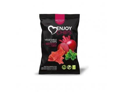 Zeleninový snack červená řepa s mátou Enjoy Chips