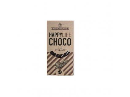 BIO HAPPYLIFE CHOCO Čokoláda 80% kakao