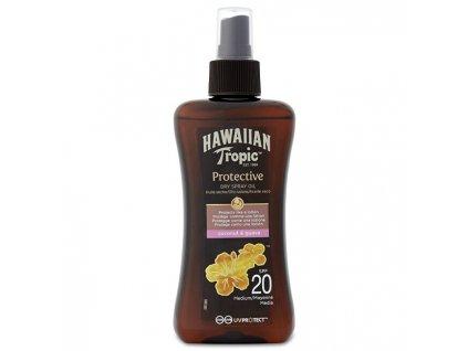 Suchý olej na opalování s rozprašovačem SPF 20 Protective (Dry Spray Oil) 200 ml