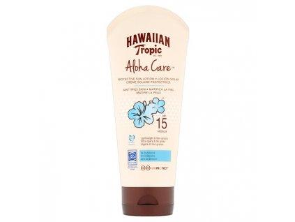 Opalovací mléko zmatňující SPF 15 Aloha Care (Protective Sun Lotion Mattifies Skin) 180 ml