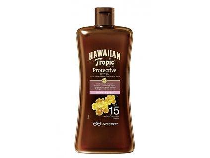 Suchý olej na opalování SPF 15 Hawaiian Tropic (Protective Dry Oil) 100 ml