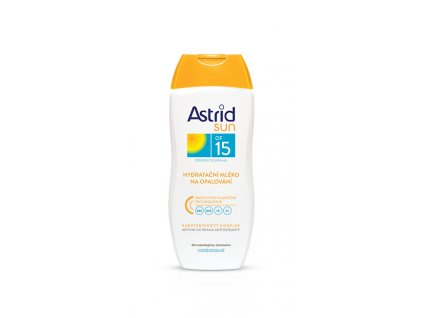 Hydratační mléko na opalování OF 15 Sun