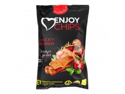 Chipsy bramborové s rajčaty a oregánem 40 g ENJOY CHIPS SE