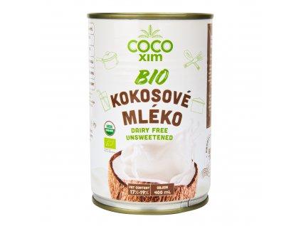 Kokosová alternativa smetany 17% tuku 330ml BIO COCOXIM