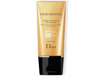 Ochranný krém na obličej Dior Bronze SPF 30 (Beautifying Protective Cream) 50 ml