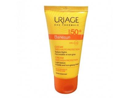 Opalovací krém na obličej pro citlivou pleť SPF 50+ Bariésun (Cream Very High Protection) 50 ml